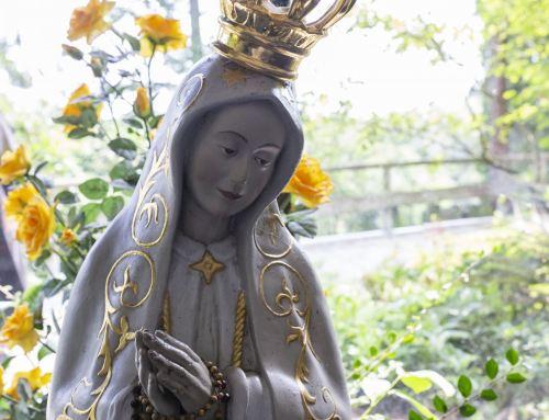 Rosenkranz Gebet im Oktober