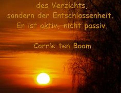 """Lebensbild: Corrie ten Boom   """"Die Liebe siegt!"""""""